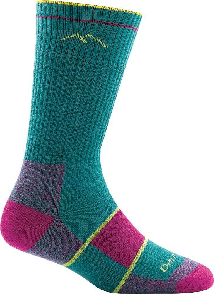 Darn Tough Coolmax Boot Full Cushion Sock - Women's Teal Medium