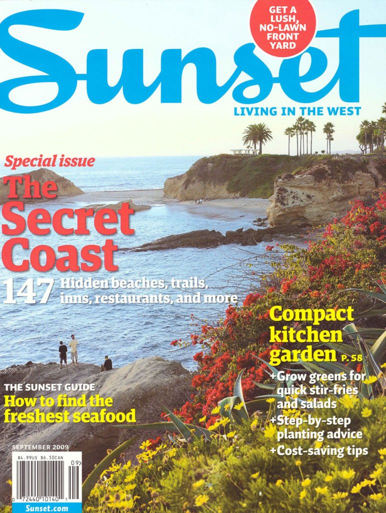 Read Online Sunset Magazine September 2009 special issue, the secret coast: 147 hidden beaches, trails, inns, restaurants and more pdf