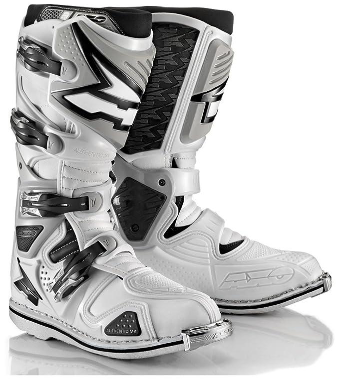 Axo Stivale da Moto Motocross A2 Bianco: Amazon.it: Scarpe e