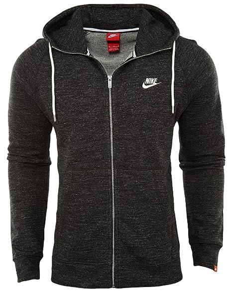 c7ca94e0cce4 Nike M NSW Legacy Hoodie FZ FT - Sweatshirt Schwarz - XS - Herren