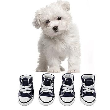 KEESIN Puppy Haustier Hund Rutschfeste Leinwand Sport Schuhe Outdoor Sneaker Stiefel Causal Schuhe Gummi Sohle Soft Cotton Inner Stoff