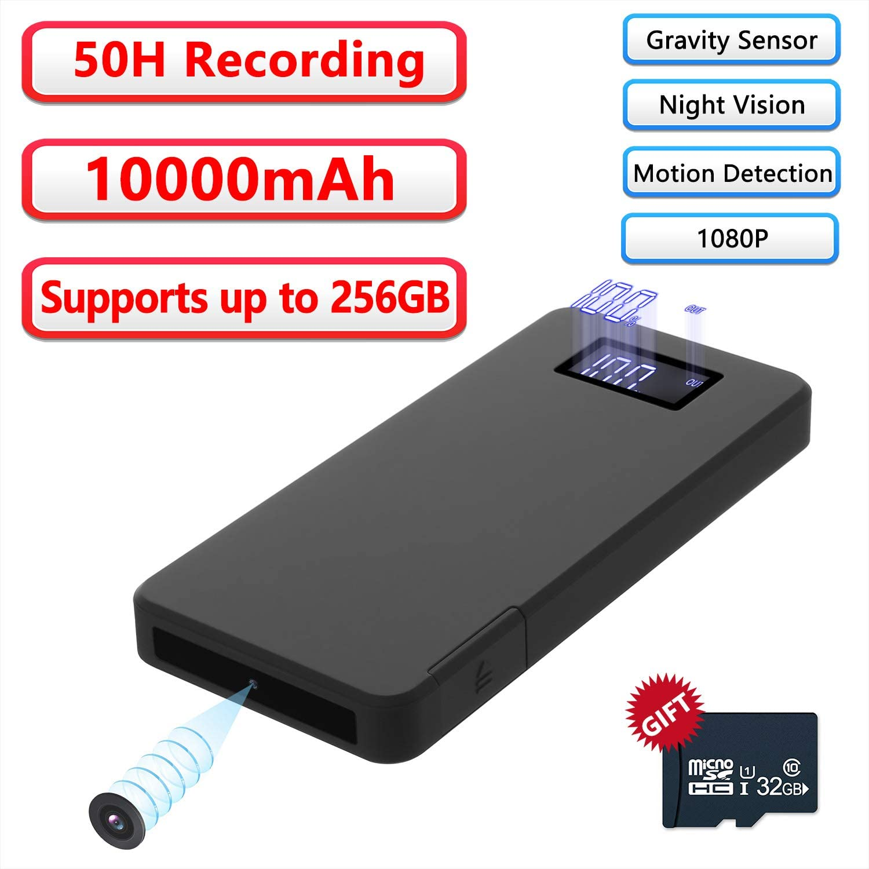 1080P HD Spy Hidden IP Camera Power Bank Wireless Video Recorder Cam LOT US