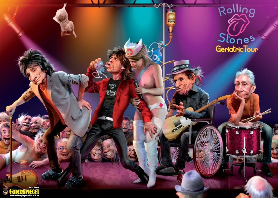 Rolling Stones in Concert - Poster 2011 (2. Auflage)
