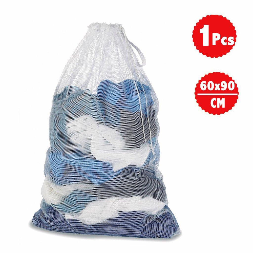 DoGeek Bolsas de Malla de Lavandería Bolsas de Lavado para Ropa Interior, Calcetines,Sujetadores, Camiseta,Ropa de Bebé (Blanco, 4 pcs) Laundry Bags-UK-4 pcs