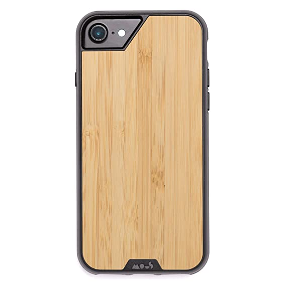 best website 44f41 81d91 Mous Protective iPhone 8/7/6s/6 Case - Real Bamboo Wood - Screen Protector  Inc.