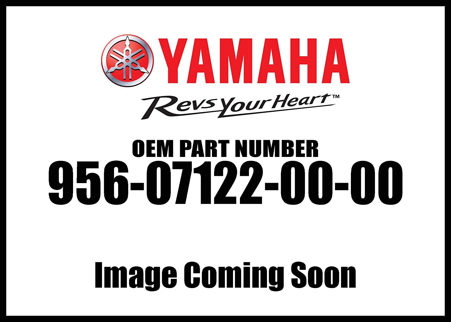 Yamaha 95607-12200-00 Nut, U Flange; 956071220000 Made by Yamaha