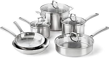 Calphalon Classic 10-Piece Pots and Pans Set