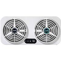 WishHome Dual-Janela Exaustor 3-Ajuste de Velocidade Usb Ventilador para Dissipação de Calor E Circulação de Ar de…