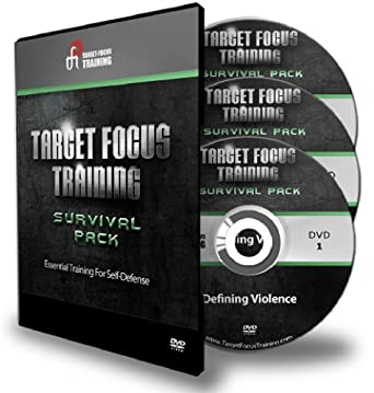 Amazon com: Target Focus Training Survival Pack 3 DVD's Tim