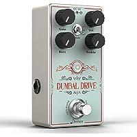 Donner Overdrive Pedal Efectos Guitarra, Dumbal Drive Pedal de Guitarra True Analógico Circuit Overdrive Pedal