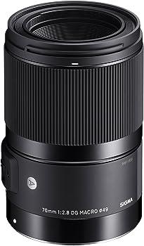 Sigma 70mm f/2.8 DG ART Macro Lens for Canon EOS Cameras