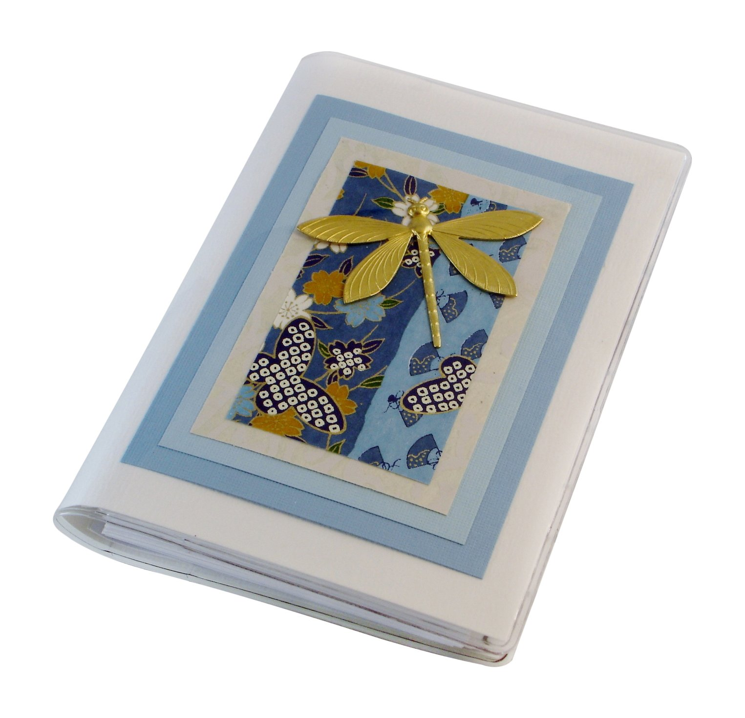 Dragonfly Blue Alphabetical Internet Password Book Made in the USA