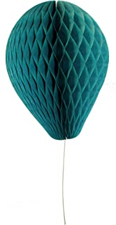 product image for 6-Pack 11 Inch Honeycomb Tissue Paper Balloon (Teal Green)
