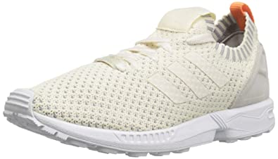 adidas Originals Women's ZX Flux W Running Shoe White/White/White 10 B(M)... New