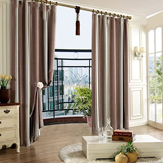 Amazon Com Qwasfcds Curtain Shading Soundproof Curtains Floor To