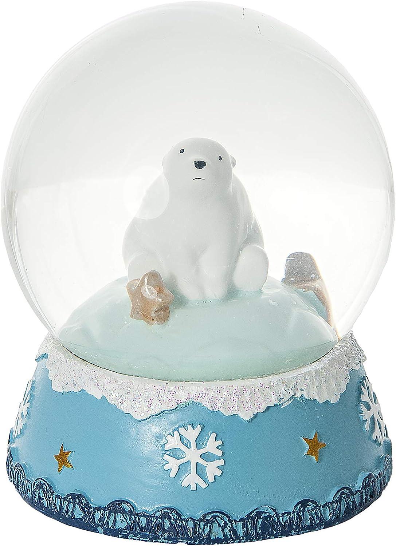 Mousehouse Gifts Globo de Nieve navideña con Oso Polar un Regalo para niños y Adultos