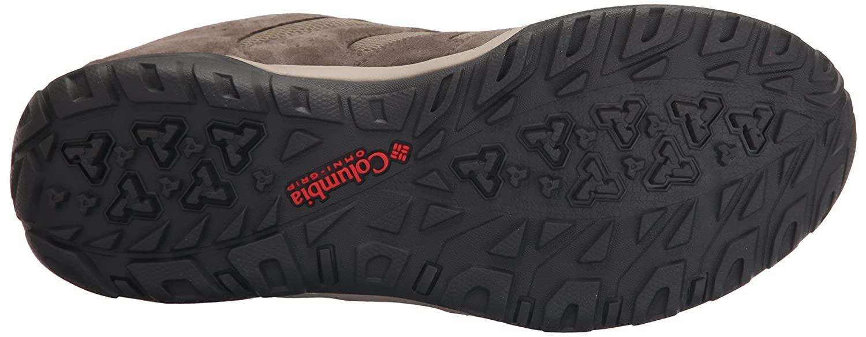 Columbia Women's Dakota Drifter Waterproof Trail Shoe B01015MY02 12 B(M) US|Pebble, Poppy Red