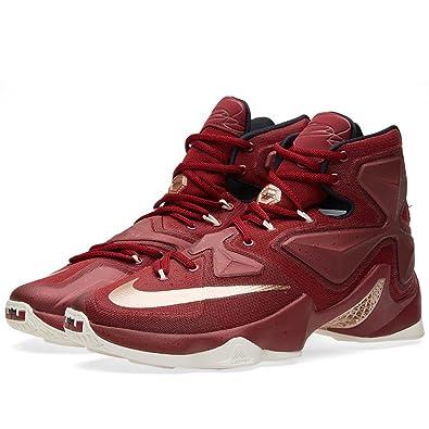 purchase cheap cf543 0e66a Nike Men s Lebron XIII Red Basketball Shoe - 8.5 ...