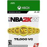 NBA 2K21: 75,000 VC - Xbox One [Digital Code]