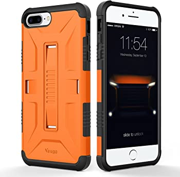 Yesgo Military Hybrid Rugged Protective Case for iPhone 7