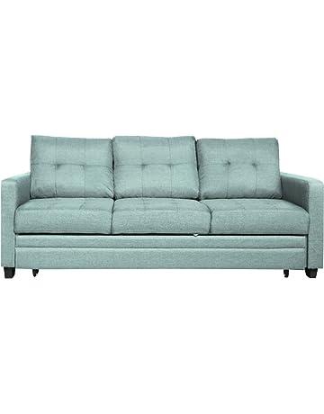 b3c78b9fb557f3 Furniture 247 3-Sitzer Schlafsofa - Grün