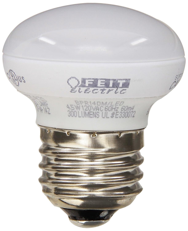 Feit BPR14DM/LED 4.5-watt Dimmable LED R14 Mini Reflector, 40W Equivalent