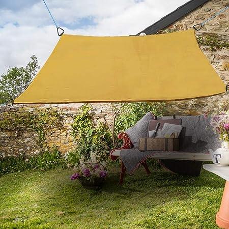 E.enjoy Malla Sombra De Red Sombra De Sun Vela Jardín Al Aire Libre Patio Fiesta Protector Solar Toldo Toldos 98% UV Bloque Cuadrado Arena (Size : 100cmX300cm): Amazon.es: Hogar