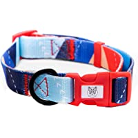 PICKLES - Pet Collar for Small Medium Large Size Dog Blue Collection (Small)