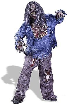 Fun World - Disfraz de halloween zombi para hombre, talla XL ...