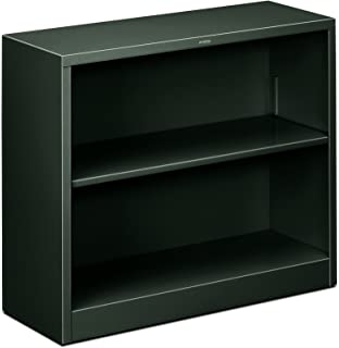 Amazon HON HS30ABCP Brigade Metal Bookcase With Two Shelves 2