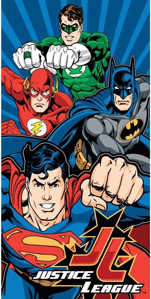 BATMAN DC Comics Justice League BEACH TOWEL 30 x 60 New