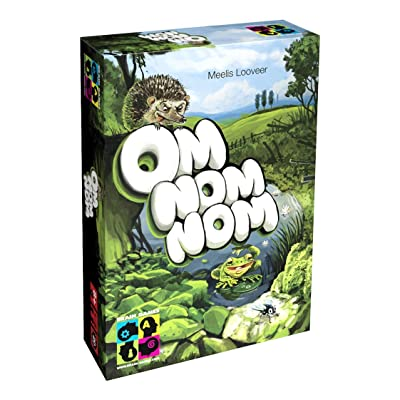 Brain Games Om Nom Nom Board Game - Solo or Multiplayer Strategy Game for Kids, Age 8+, Teenagers and Adults - Award Winning Family Fun!: Toys & Games