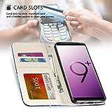 UrSpeedtekLive Galaxy S9 Plus Wallet Case Folio