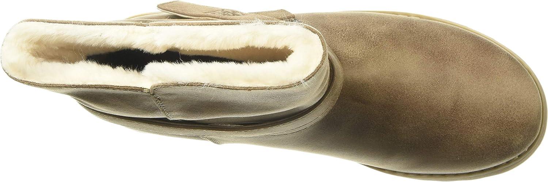 Details about Womens Skechers Designer Pikes Peak Boots Memory Foam Insole Warm Winter Shoes