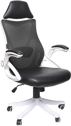 eclife Office Chair High Back Computer Chair Desk Chair Ergonomics Mesh Chair Adjustable Height Task Chair OF-D03
