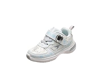 [シュンソク] 運動靴 レモンパイ シンデレラフィット 15cm~19cm D キッズ 女の子 サックス 15.5 cm D