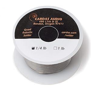 Cardas Solder Wire Quad Eutectic Silver Solder