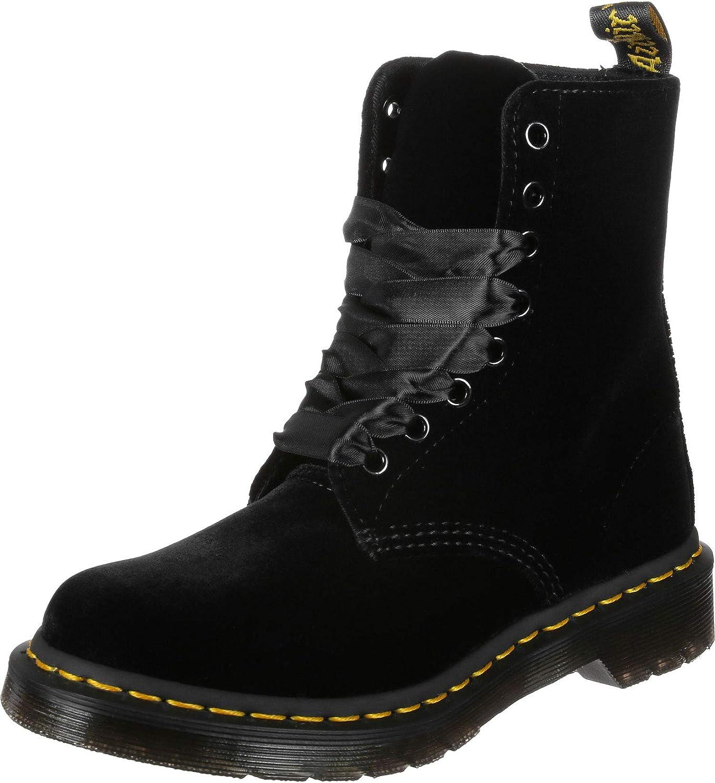 Dr. Martens Unisex Adult's 1460 Pascal Velvet Boots (Nero) Nero
