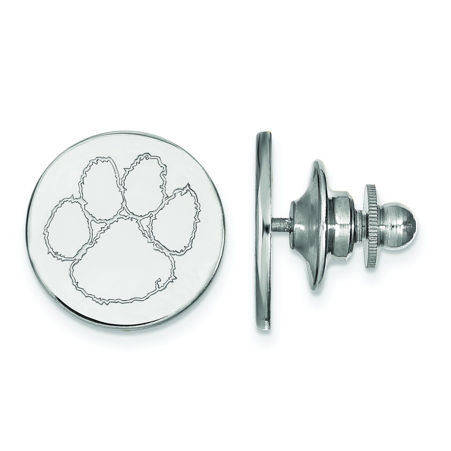 Clemson Lapel Pin (Sterling Silver)