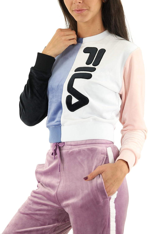 Fila Felpa Women Nicoline col Block Sweatsh Felpa Donna Multicolor 684616