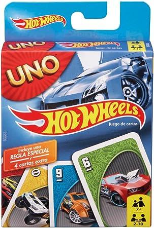 Mattel Games - UNO Hot Wheels juego de cartas: Amazon.es: Juguetes y juegos