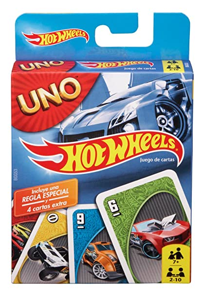 Mattel Games Hot Wheels UNO Game