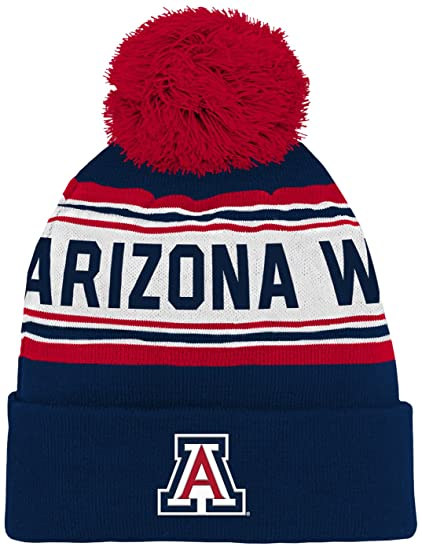 c19f8e39c NCAA Boys NCAA Kids & Youth Boys Cuffed Knit with Pom Hat