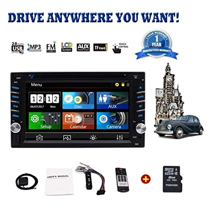 Amazon Com Best Buy Car Stereo 6 2 Wince Double Din Car Radio