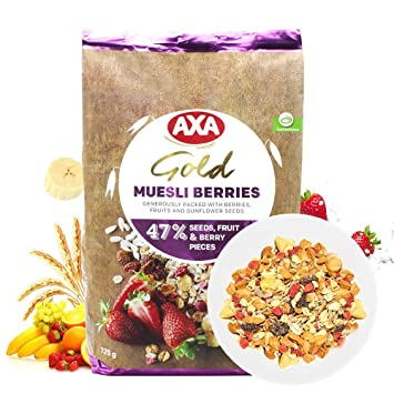 Amazon com: Axa Gold Musli with Berries: