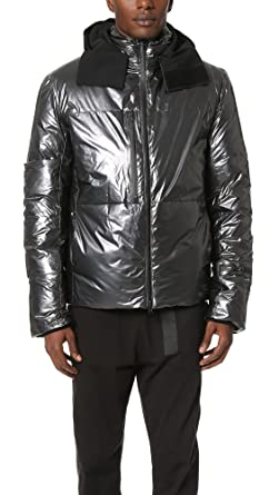 f4fa5bdfa65c3 Y-3 Men's Y-3 Nylon Down Jacket, Night Metallic, Small at Amazon ...