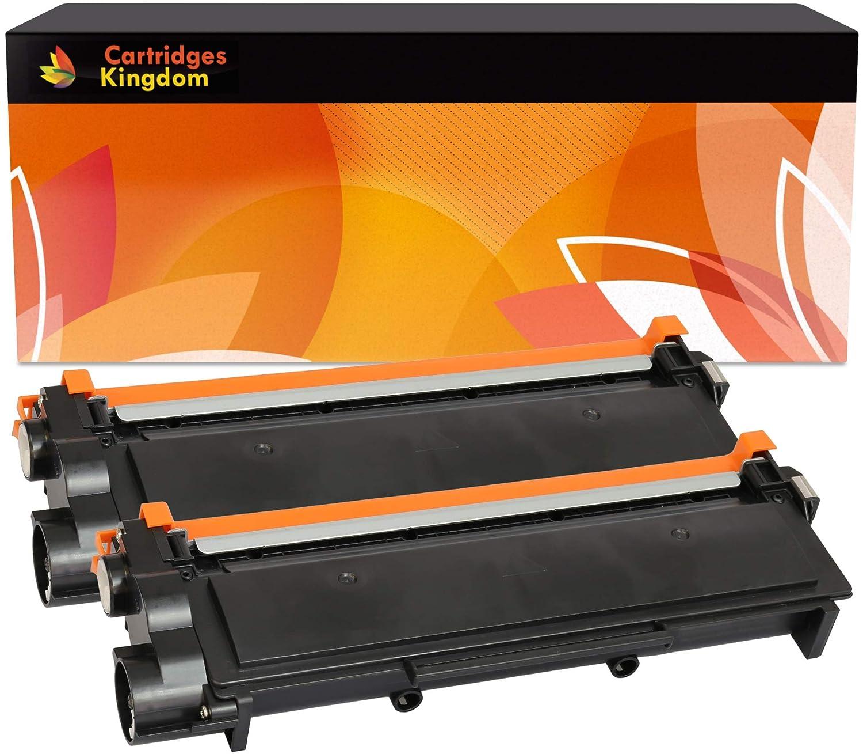 2 Cartuchos de tóner láser compatibles con Brother TN2320 HL ...