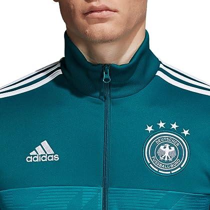 d8f1adeddfd9 adidas 2018-2019 Germany 3S Track Top (Green)