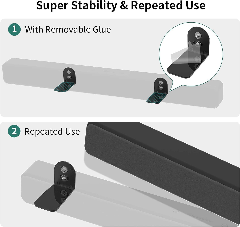 ghdonat.com Electronics Speaker Mounts Adjustable Sound bar Mounts ...