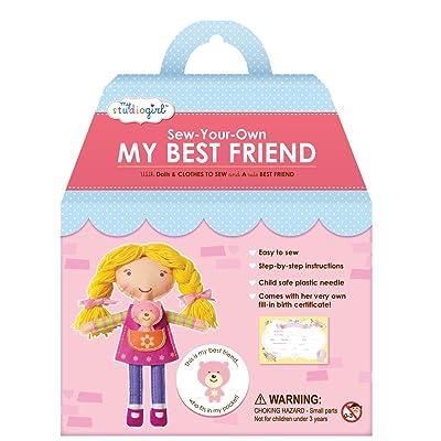 My Studio Girl Best Friend Dolls - Blonde: Toys & Games